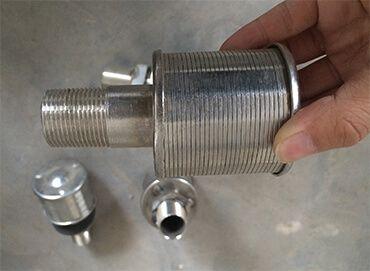 Фильтрующие элементы колпачки щелевые